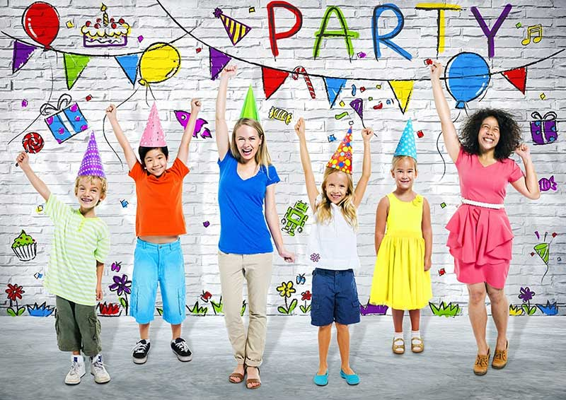 New Year Party with Kids