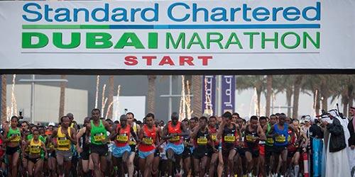 Dubai Marathon Event