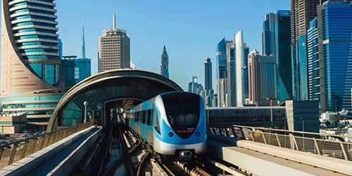 Metro in Dubai