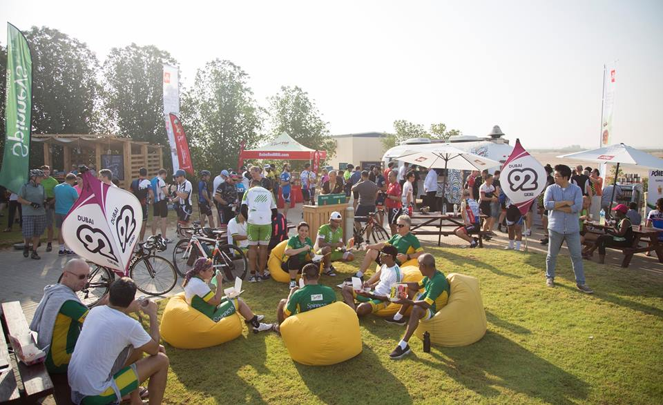 pinneys Dubai 92 Cycle Challenge pics