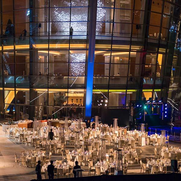 New Year Dinner at Dubai Opera