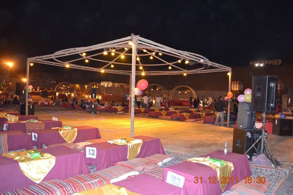 New Year Party at Dubai Desert Safari Camp