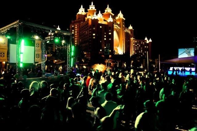 Nasimi Beach New Year eve Party in Dubai