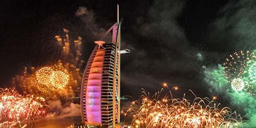 New Year in Burj Al Arab