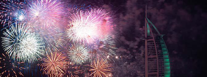 Best Fireworks in Dubai