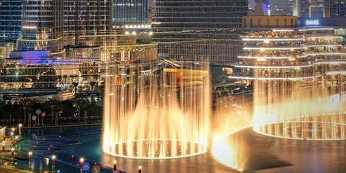Dubai Fountain in Mall