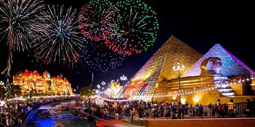 Global Village on New Year