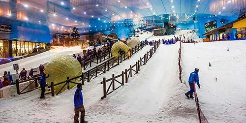 Indoor Theme Parks in Dubai