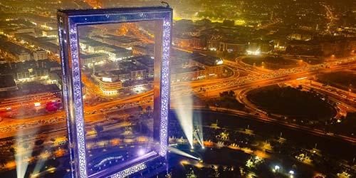 Dubai Frame Attraction