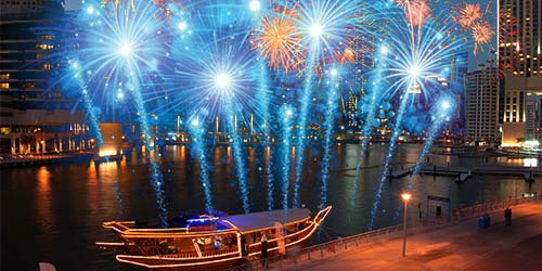 New Year Celebration in Dhow Cruise
