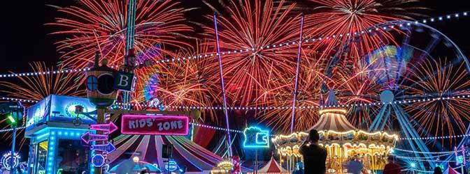 Celebrate New Years Eve in Global Village Dubai